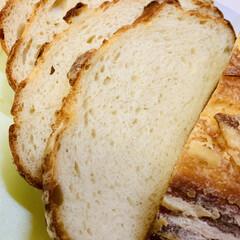 バヌトン型カンパーニュ/自家製天然酵母パン パンカット🗡(2枚目)