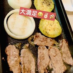グルメ/ビール/野菜/お家で焼肉 今夜は🏠で焼肉だ〜い🍻🍻🍻🌟  お肉が美…(4枚目)
