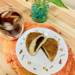 カレーパン/自家製天然酵母パン ヘルシー👩🍳 油で揚げないカレーパン …(1枚目)