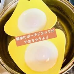 シリコン製ポーチドエッグ/メンマ/ポーチドエッグ/つけ麺/夕食 こんばんは🌠  今夜はつけ麺😁☝🏻⭐️ …(2枚目)