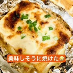 ピザ用チーズ/厚揚げ 今日は、一日中冷たい☔️が降り続いていま…(2枚目)