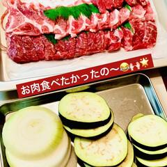 グルメ/ビール/野菜/お家で焼肉 今夜は🏠で焼肉だ〜い🍻🍻🍻🌟  お肉が美…(2枚目)