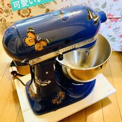 自家製天然酵母/仕込み/手作りパン/デコしてみたよ/スタンドミキサー/キッチンエイド/... キッチンエイドスタンドミキサーを 誕生日…(3枚目)