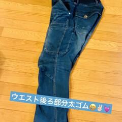 ストレッチ/WORKMAN/Gーンズ/4D裁断/DIY/男前 good morning👖  今朝は w…(4枚目)