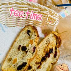 カンパーニュ/天然酵母パン/うちの定番料理 ほっと一息 tee time ☕️