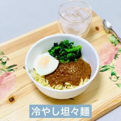 レトルト/業スー/辛口/坦々麺 launchは冷やし坦々麺  辛いのお好…(1枚目)