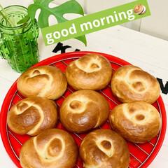 プレゼント/結びベーグル/手作りパン/自家製天然酵母 good morning🥯  今日は娘が…(1枚目)
