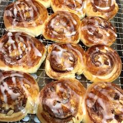 自家製天然酵母パン/シナモンロール 自家製天然酵母パン シナモンロール