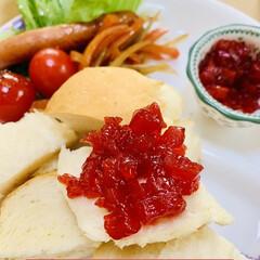 launch/かりん/手作りジャム/ご飯🍚パン🍞 MY launch🤗💖  早速 ご飯🍚パ…(2枚目)