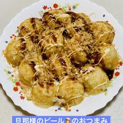 簡単ご飯🍚/寿司飯/シーチキン/たこ焼き🐙/夕食 今夜は、 寿司酢ご飯とシーチキンで 野菜…(3枚目)