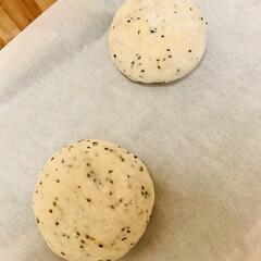 自家製天然酵母パン launch用に ただ今、第二発酵開始😜…
