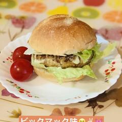 キッチンエイド/ハンバーガー/手作りミンチ/launch launch🍔  キッチンエイドで作った…(2枚目)