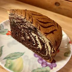 手作りケーキ しっとりふぁふぁ〜😋🎶🎶🎶