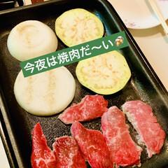 グルメ/ビール/野菜/お家で焼肉 今夜は🏠で焼肉だ〜い🍻🍻🍻🌟  お肉が美…(1枚目)