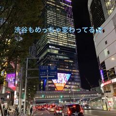 渋谷駅 昨夜の旦那様の夜勤場所は、渋谷駅でした。…
