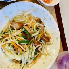 野菜炒め 今夜は野菜炒め🥕🥬 野菜炒めは、短時間が…(2枚目)