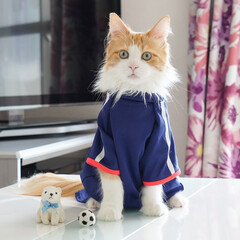 猫/サッカー/クマ/ペット 僕とサッカーとクマちゃんと