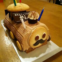 バースデーケーキ バースデーケーキ  今日は孫の5才の誕生…