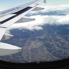 仙台上空/震災復興応援旅/東北旅行/旅 東北大震災後、何度も訪れた仙台! 美しい…