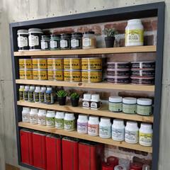 ironpaint/MILKPAINT/ターナー色彩/簡単塗装/端材DIY/端材/... 01/07/16 ドーモ!本日、私が住ま…