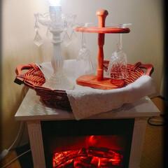 暮らし 冬は暖炉型ストーブでほっこり。心まで暖ま…