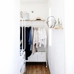 収納/クローゼット/衣類/衣替え/家事/ラク家事/... クローゼットをこのスタイルに変えて かな…