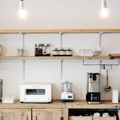 インテリア/照明/キッチン/シンプル 主張し過ぎないシンプルな 照明が今は好き…