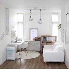 整理収納コンサルタント/机/棚/リビング/IKEA/セリア/...