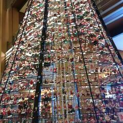 クリスマスツリー/フォロー大歓迎/インテリア/クリスマス/サンタクロース/東京ミッドタウン/... 東京ミッドタウンで見かけたクリスマスツリ…