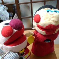 ドリーム手芸屋さん/人形劇用のフェルト人形/あけおめ/フォロー大歓迎/冬/おうち/... 手作り人形です❗人形劇を一人でしたくて作…