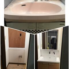 TOTO/洗面台/コーナン シャワーヘッドとレバーの間の栓のつまみが…