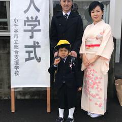 入学式/平成最後の一枚 平成最後の新一年生!小さい身体に大きなラ…