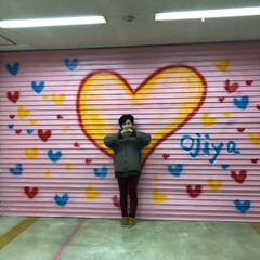シャッターアート/お気に入り 小千谷病院の跡地に出来たシャッターアート…