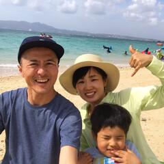 Alohaー/わたしのGW 沖縄のブルーの海と白い砂浜でAlohaー…