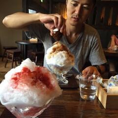 かき氷/甘党大集合 夏はかき氷!だけど、コーヒーシロップたっ…