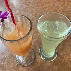 ジュース/わたしのGW 沖縄のグァバジュースとシークワーサージュ…