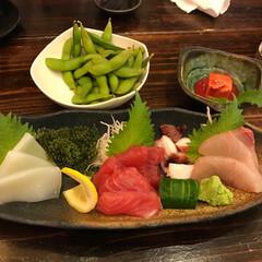 沖縄の美味/わたしのGW 沖縄の幸の盛り合わせと、豆腐よう。プチプ…