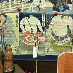 花より団子/小さい春 絵紙と小千谷のひいな祭りでのひとコマ。よ…