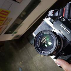 カメラ/一眼レフ/フィルム/フィルムカメラ/プロ用/オールドレンズ/... Nikon社の『F』というフィルムカメラ…