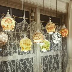ランプ/シュクレさん/灯り/ワークショップ/手作り/ハンドメイド/... 昨日は弘前市シュクレさんでワークショップ…