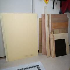 アクリル板/端材/DIY/ワゴン 大量に端材が届きました⤵️ 蕎麦打ち用の…