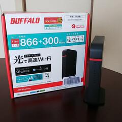 Wi-Fi/Wi-Fiルーター あまりにWi-Fiの調子がわるいので、A…