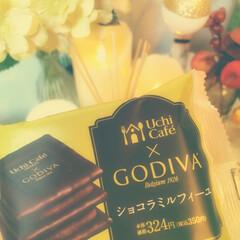 Uchi Cafe'/LAWSON/GODIVA/スイーツ ご褒美sweets🍰❇︎° LAWSON…