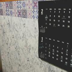 キッチンボード ラピス 120 ホワイト 4713450 | ニトリ(食器棚、レンジ台)を使ったクチコミ「キッチンカウンター代わりにニトリのキッチ…」(1枚目)