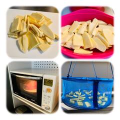 さつまいも/手作りおやつ/おやつ/簡単/初挑戦/天日干し/... 簡単!干し芋作り☆   細めの小さいな …