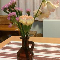 花すけ/Bloomee LIFE/花 今週のお花。 ・スターチス.ピンク(和歌…