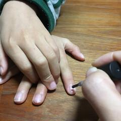 ファッション 男の子だって、爪をキラキラにしたい(o^…(1枚目)