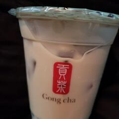 ミルクティ/ティタイム/行列/ゴンチャ/タピオカ ゴンチャのタピオカミルクティ☆ 甘さも調…