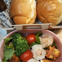 ランチ/おべんとう/2018/フード 今日は娘が部活の試合で お弁当持ちでした🍱