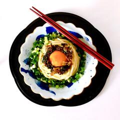 セロリふりかけ/セロリの葉/セロリ/お昼ごはん/お料理好きな人と繋がりたい/簡単レシピ/... 糖質0g麺で簡単ランチ  今日は暑いから…